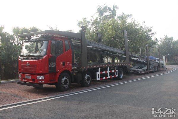 轿运车整治后17米5平板离大限还远吗?