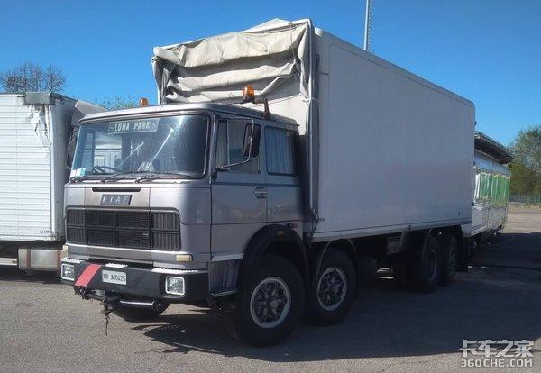 搭载6缸发动机,车货总重达44吨,菲亚特重卡40年前就做到了