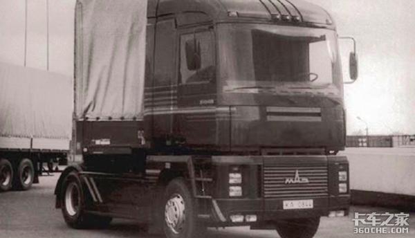 俄罗斯也曾造过马格农卡车,可惜至今都没有量产过