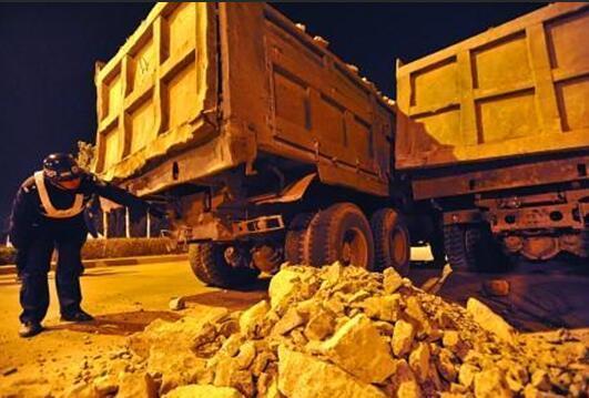 秦安:开展渣土车工程运输车专项整治工作