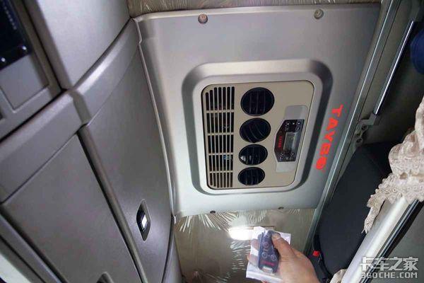 无缝安装原车取电这款泰铂的纯电动驻车空调让阿三很满意