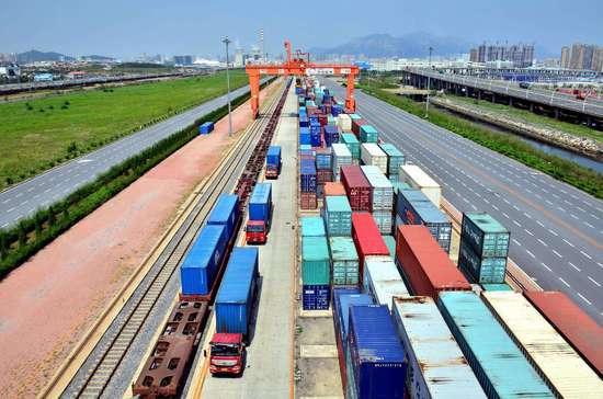 宜昌市新开一条线路多式联运物流新通道