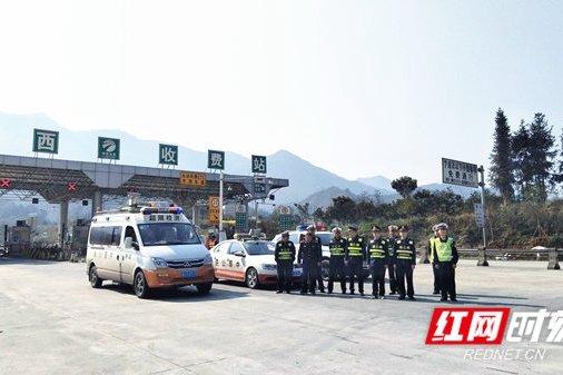 湘西高速强化入口治超前8天劝返超限车辆366台