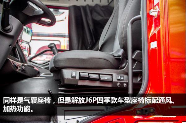 一车在手四季无忧――一汽解放新J6P6×4四季款