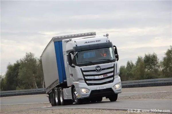 两台卡车只用一名司机开!重卡无人驾驶编队技术