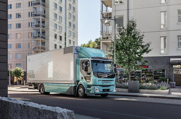 沃尔沃为巩固地位计划在韩国推出纯电动卡车