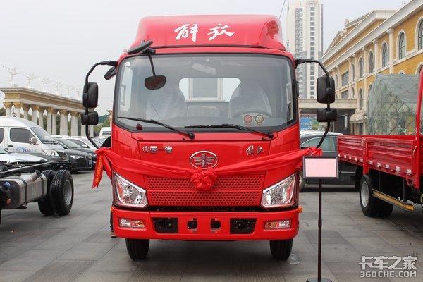 解放轻卡2019年第20000台车在山东临沂喜落新家!