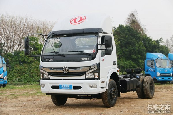 3.76L康机+法士特8挡箱适合重载运输的凯普特售12.7万!