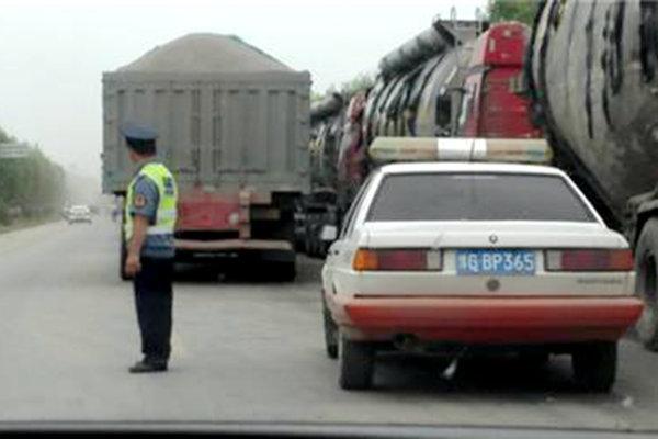 湖南:公路管理局从严打击治超暴力抗法