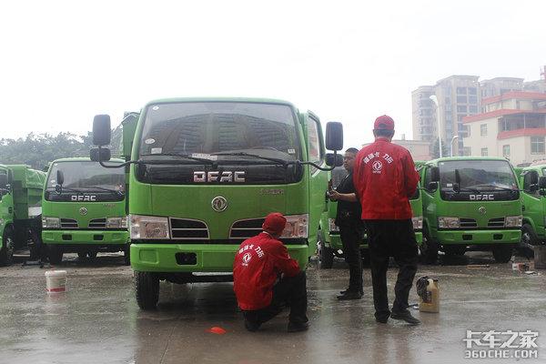 300台东风福瑞卡新型渣土车!晋江与东风达成战略合作