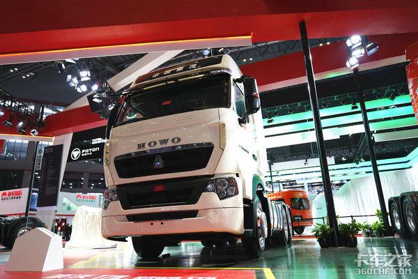 【上海车展】重汽再亮黑科技!多款国六智能卡车及无人驾驶卡车亮相