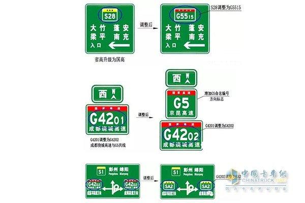 卡友当心!四川高速公路命名编号做重大调整!5月底实施到位!