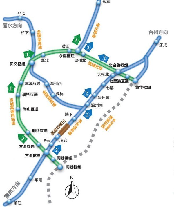 """温州绕城高速试行货车通行费8.5折!60多个网点可办""""优惠卡"""""""