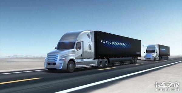 无人驾驶货车编队即将上路?比想象的快