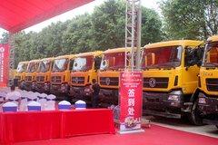 签售145辆 行业代表为天龙KC渣土车点赞