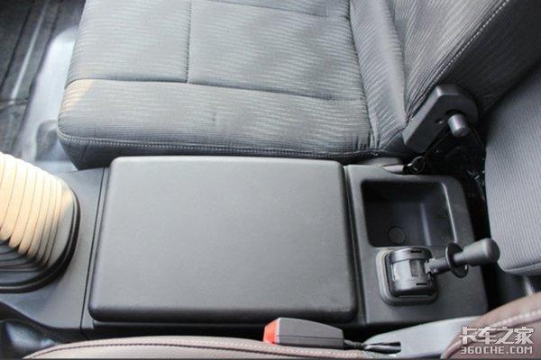 减震座椅+一键启动福田时代新领航图解