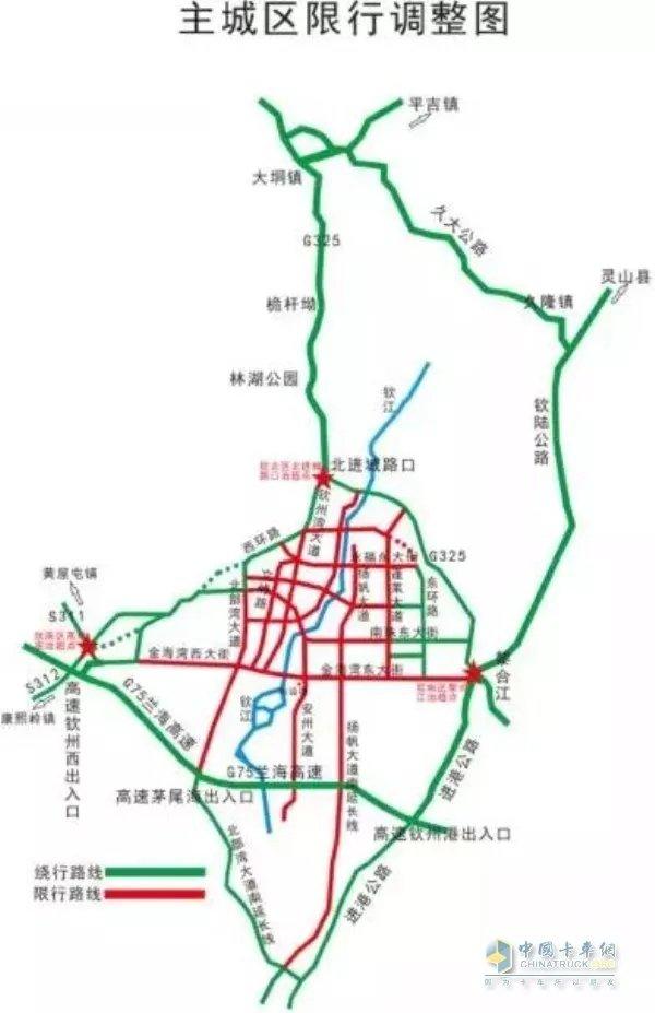 全国部分地区五一期间实施交通管制看看有没有你的城市