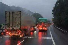 那辆货车开不动了 货车司机该何去何从