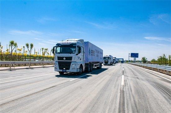 自动驾驶再下一城重汽智能卡车津门亮剑实现列队自动驾驶
