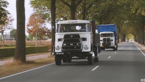 你猜!还在运营的最老达夫卡车已经用了多少年?
