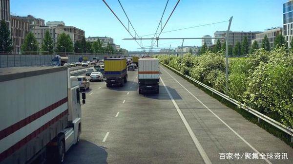 德国开通电力高速公路允许卡车从高架电缆获取电力