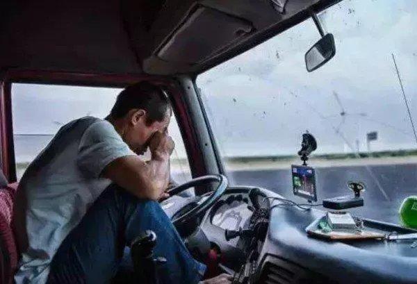货车司机最懂的十张图片99%的司机看完都含泪转了