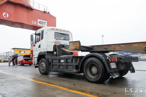 电动牵引车在港口运营,我们看到了比亚迪Q1的实际效率