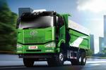 新J6P 6×4 天然气渣土车 共建绿色家园