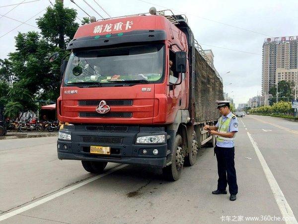祁县交警:进企业消除隐患上路面严查违法