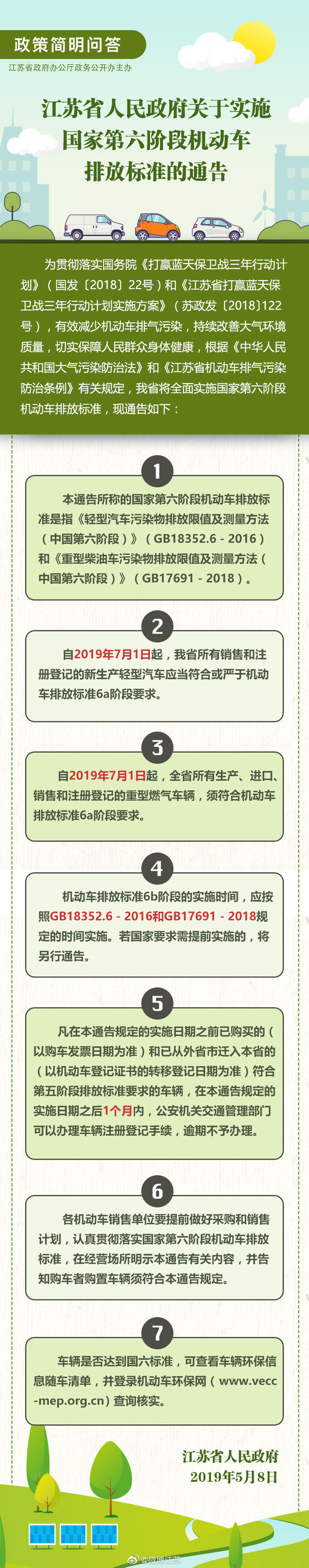江苏实施国六7.1前购这两款国五可上牌
