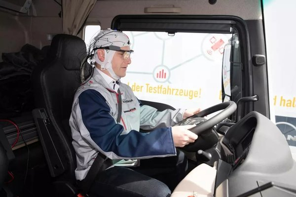 全球首个队列驾驶实际运输测试已得出这样的结论