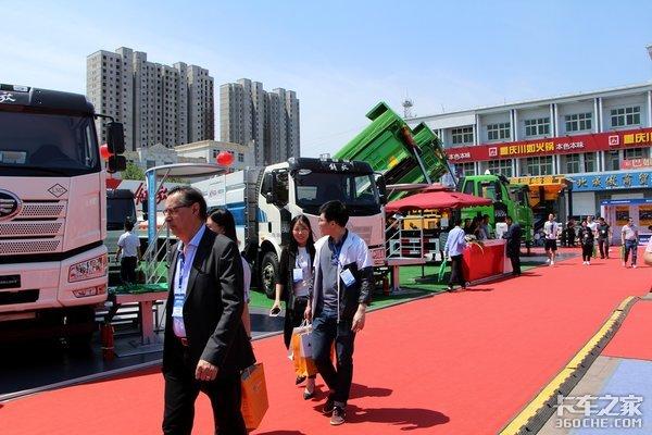 雄安车展体验:国六、新能源列阵来袭