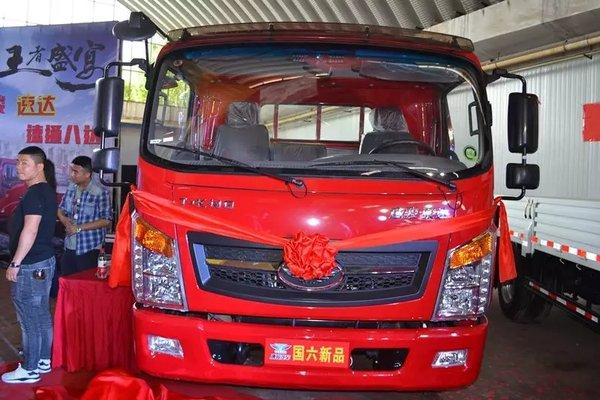唐骏国六汽车新品发布站古丝绸之路闪耀西安