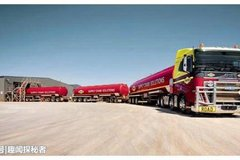 世界上最长的卡车 火车都要被比下去了