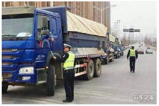 达不到国Ⅳ排放标准柴油货车禁止过境高速济南段