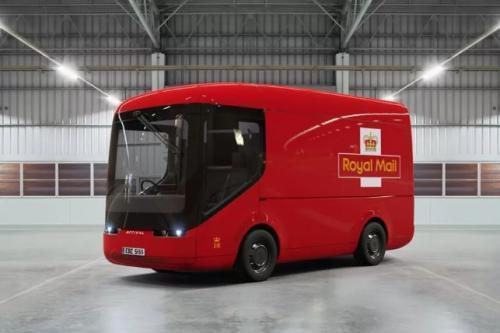 英國皇家郵政局 正在倫敦試驗電動貨車