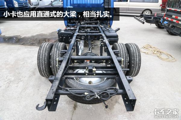 1.9T柴油动力、3.6米货厢,缔途DX小卡是真能装