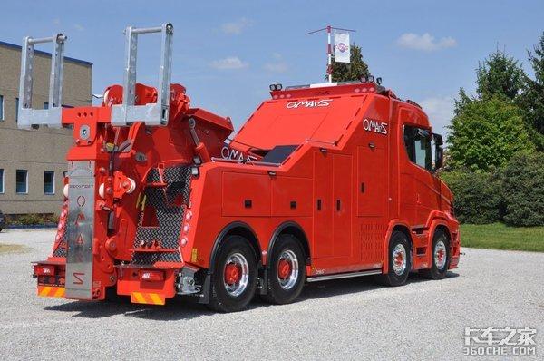 停产10多年后,斯堪尼亚S580T改装长头车又复活了