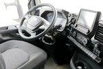 体验了一次威龙HV5的驾驶室 确实很舒服