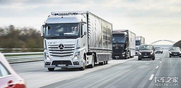 重汽、福田、东风同时测试列队行驶,商用车智能化未来可期