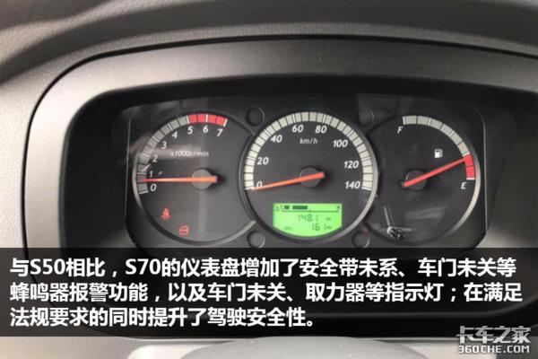 国五升<a href='http://www.dxgs1.com/News/' target='_blank'>国六</a>原来小福星S70变化这么大