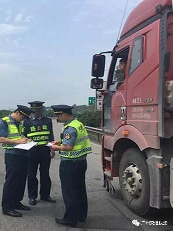 广州:非现场治超执法打头炮高速公路入口治超阻截劝返紧跟上