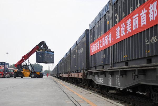 河北推动重点企业铁路专用线建设减少重型卡车污染
