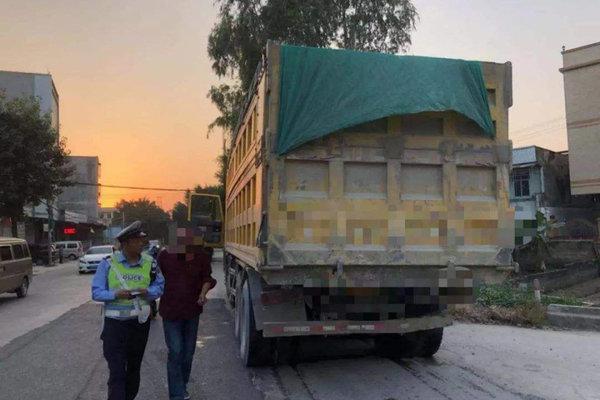 河北南皮检察建议督促强化渣土车夜间运行监管