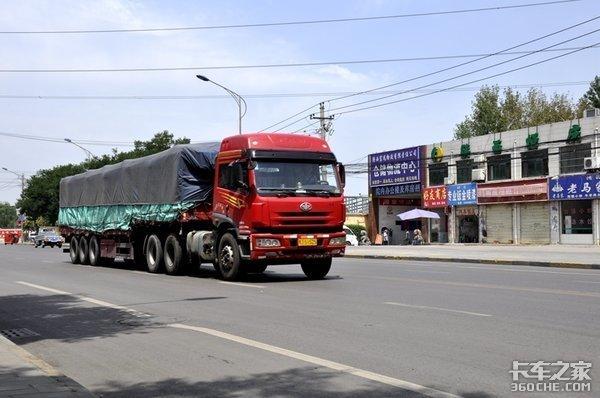 韶山限行首日大货车明显减少市民对限行措施表示支持