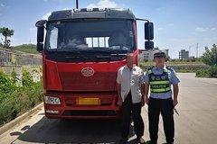 榆林:有拖拉机驾驶证 竟敢开重型货车