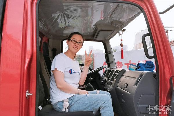 于美佳:我不会开卡车但我?#19981;?#22352;卡车