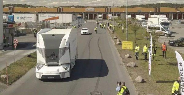 货车终极形态?米其林使用自动驾驶卡车