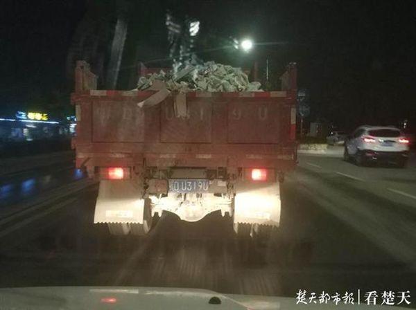 """荆州:查处渣土车乱象用上""""尖板眼"""""""