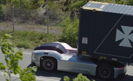 沃尔沃自动驾驶卡车Vera即将在码头测试